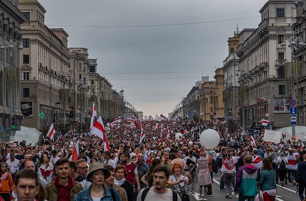 sandvine belarus protests