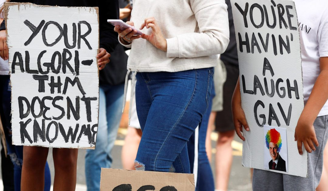 The Ofqual case: a precedent for protesting algorithms?