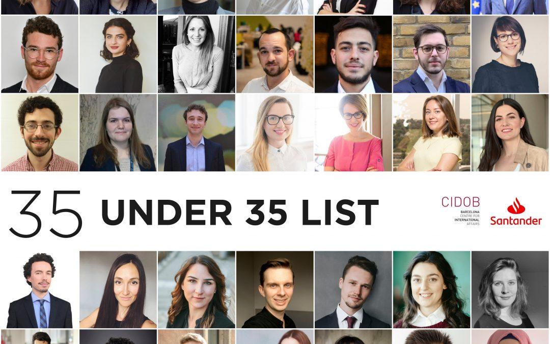 Santander-CIDOB 35 under 35 Future Leaders list