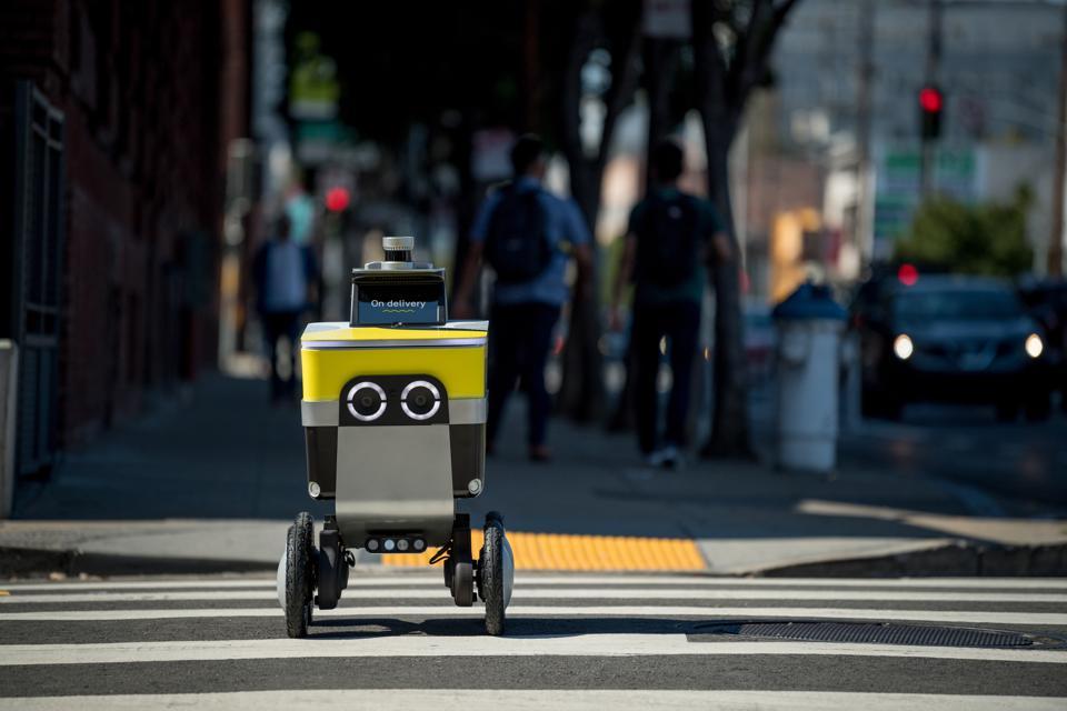 Sidewalk ontology: the dangerous equation of robots and pedestrians