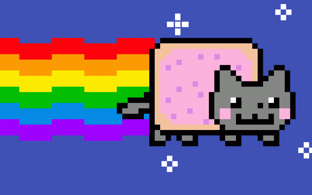 Nyan Cat could not resist the NFT fever